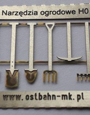 AH0-20 Narzędzia ogrodowe H0