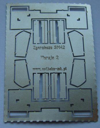 DH0-93 Zgarniacze SM42. Wersja 2