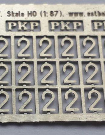 DH0-106 Tabliczki EN57 (PKP i 2)