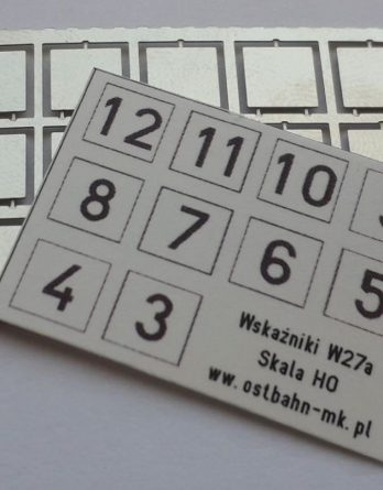 AH0-118 Wskaźniki W27a