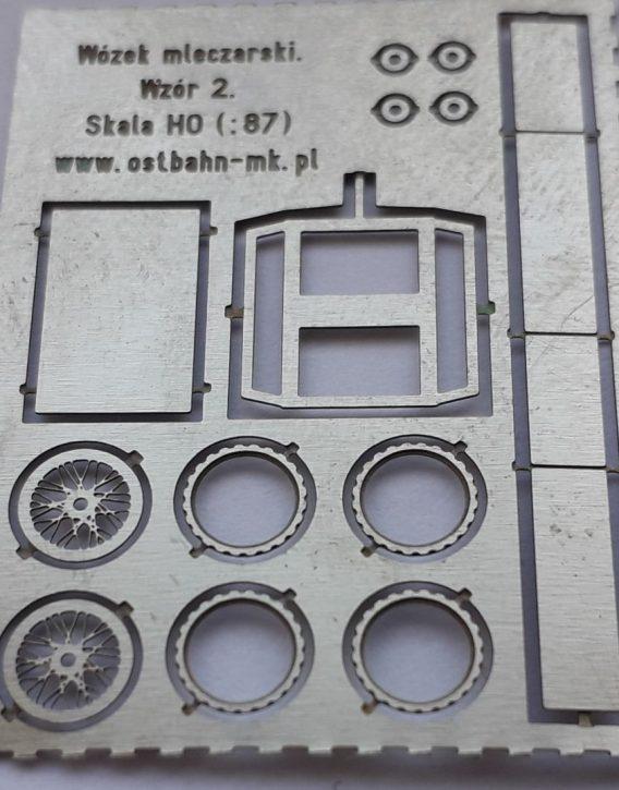 AH0-120 Wózek mleczarki. Wzór 2