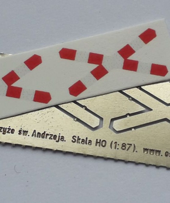 AH0-139 Krzyże św. Andrzeja H0