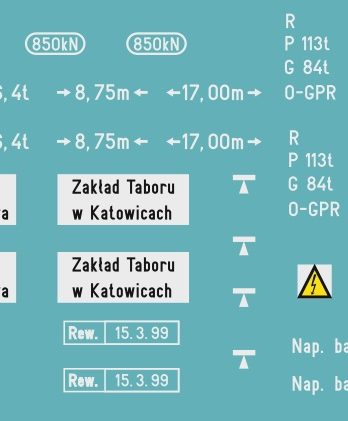 KH0-14 Kalkomania SM31-21 H0