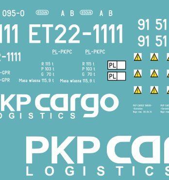 KH0-20 Kalkomania ET22-1111
