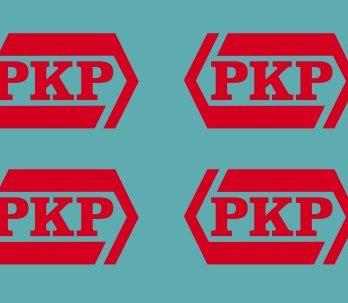 KH0-34 Logo PKP czerwone