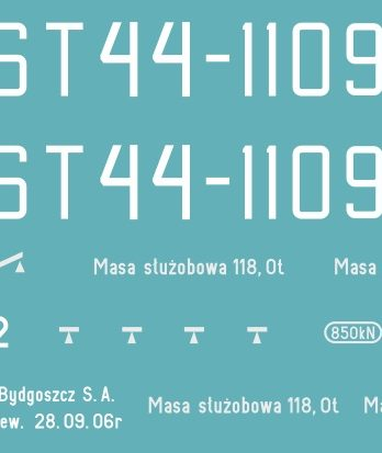 KTT-05 Kalkomania ST44-1109