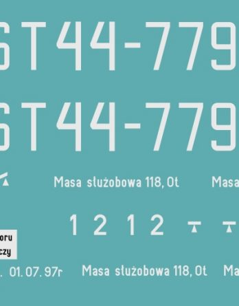 KTT-06 Kalkomania ST44-779 TT